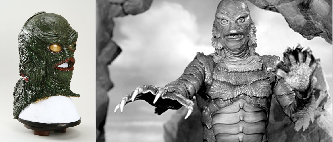 Superestrellas invisibles maquilladores y estilistas for Creature from the black lagoon coloring pages