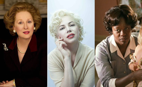 Meryl Streep, Michelle Williams y Viola Davis