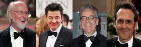Oscar nominees 2012 for Best Original Score