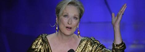 """Meryl Streep recibió el tercer premio Oscar de su carrera por """"The Iron Lady""""."""