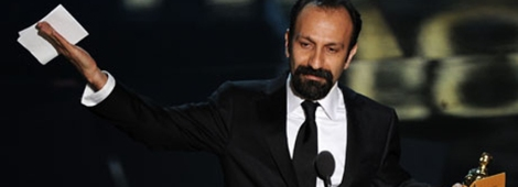 Oscars 2012: Asghar Farhadi, who's film, A Separation, won the best foreign language film