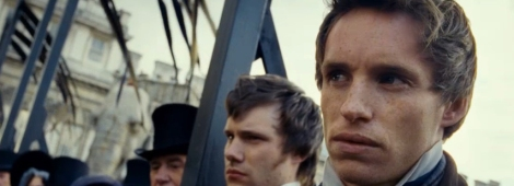 Les Miserables 2012 - Eddie Redmayne as Marius