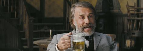 """Cristoph Waltz recibio su segundo Oscar en esta categoría por """"Django Unchained""""."""