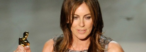 "Kathryn Bigelow acepta el Oscar a Mejor Director por ""The Hurt Locker"""