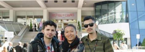 De izquierda a derecha, Juan Sebastian Mesa, Omar Villa y Alexander Arbeláez.