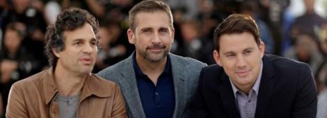 """El elenco de """"Foxcatcher"""" en Cannes 2014."""