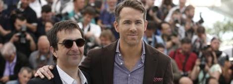 """Atom Egoyan y Ryan Reynolds en la presentación de """"The Captive"""""""