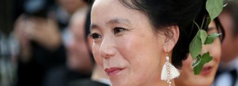"""La directora Naomi Kawase en la presentación de """"Still the Water"""""""