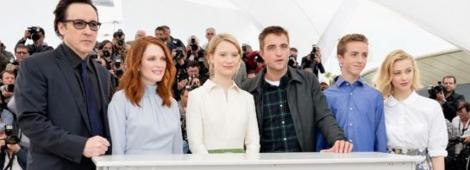 """El elenco de """"Map to the Starts"""" en Cannes 2014."""